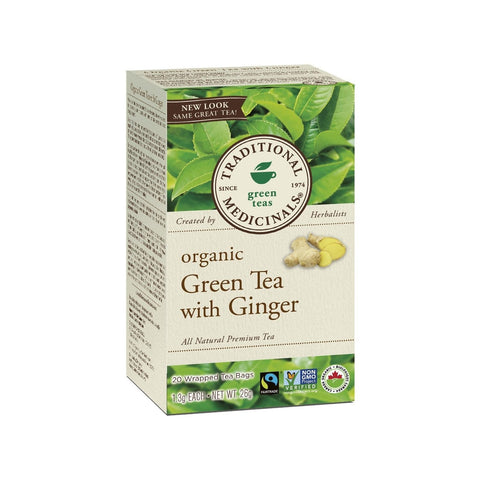 Organic Green TEA with Ginger 20ct