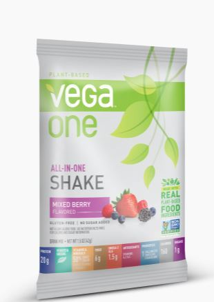 VEGA NUTRITIONAL ONE MIXED BERRY 42g
