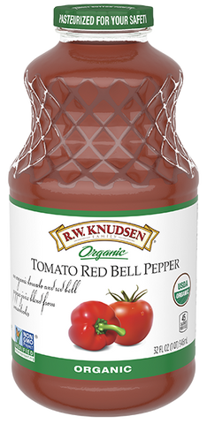 ORGANIC TOMATO RED BELL PEPPER JUICE 946ML