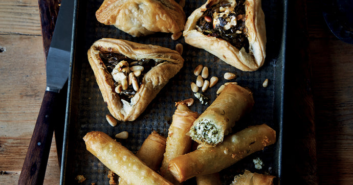 Little Spinach and Feta Pastries