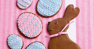Easter Eggs and Bunny Cookies