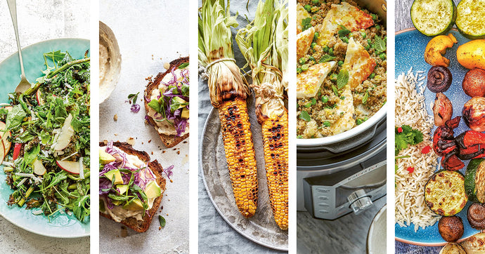 Meat-free dishes for National Vegetarian Week