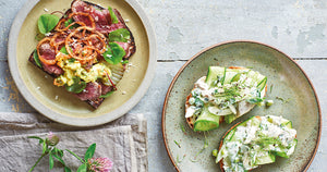 Scandi Open Sandwiches