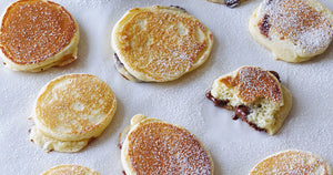 Mini Choc Chip Pancakes