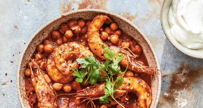 Smoky Prawn and Chickpea Stew