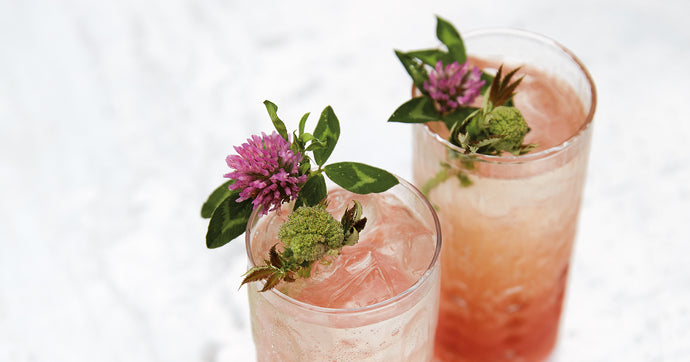 Fruity and Flowery Mocktail