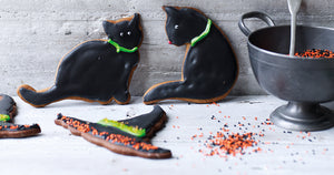 Witches Cats and Hats Gingerbread Recipe