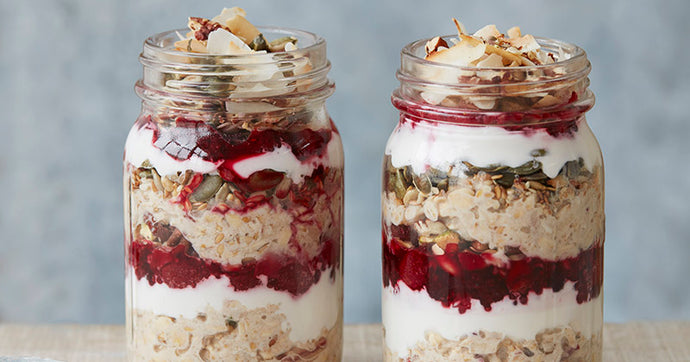 Vegan Coconut Bircher Muesli