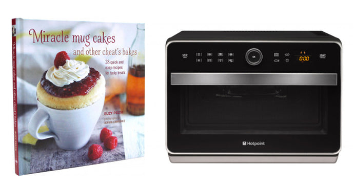 Win a Hotpoint Microwave & 'Miracle Mug Cakes & Other Cheat's Bakes'