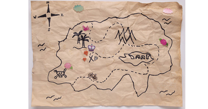 Egg Hunt Treasure Map