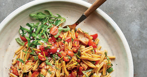 Tuna, Rocket & Harissa Pasta Recipe