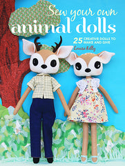 Sew Your Own Animal Dolls Cover