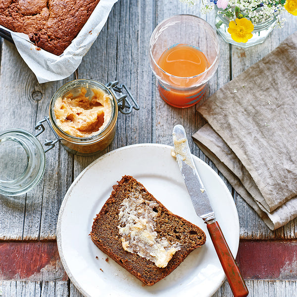 Banana and rye bread