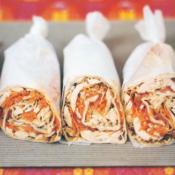 eat drink live chicken salad wraps
