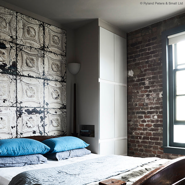 Urban Pioneer bedroom