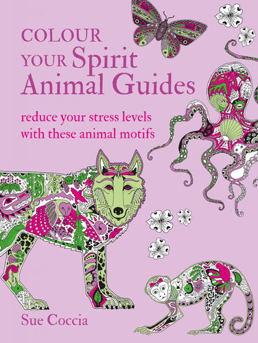 Colour Your Spirit Animal Guides
