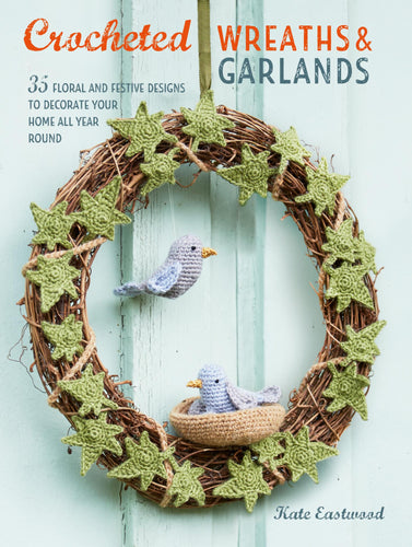 Crocheted Wreaths and Garlands