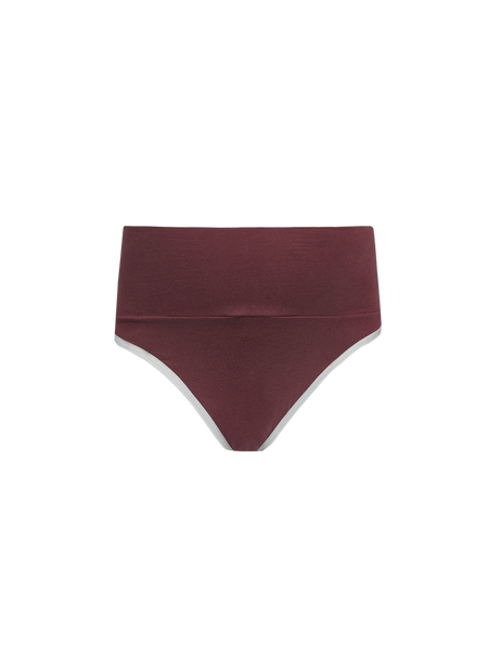 B84 Culotte Cotton Bordeaux