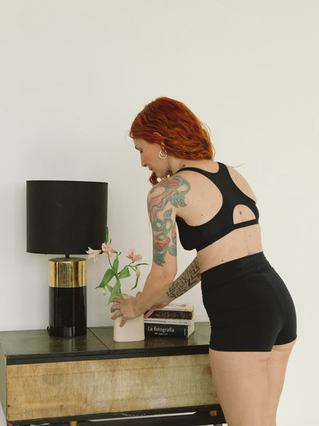 B84 Culotte Cotton Rosa