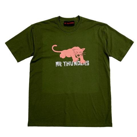 Panther T-Shirt (Olive)