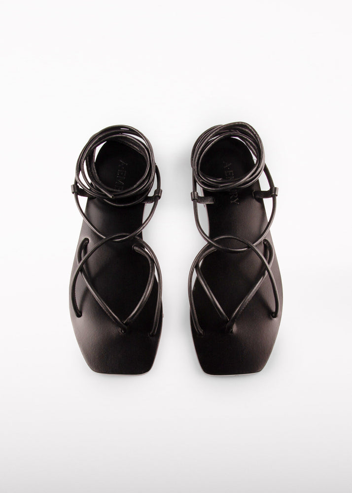 Load image into Gallery viewer, The Hazel Sandal Black | 37,38,39,40