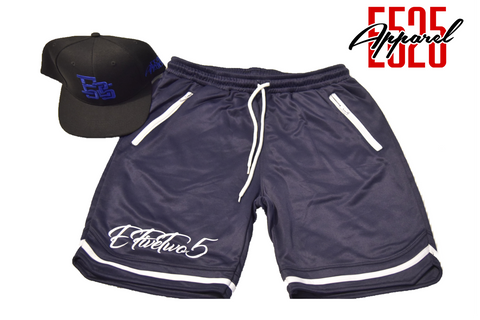 E525 Elite Basketball Shorts// Navy