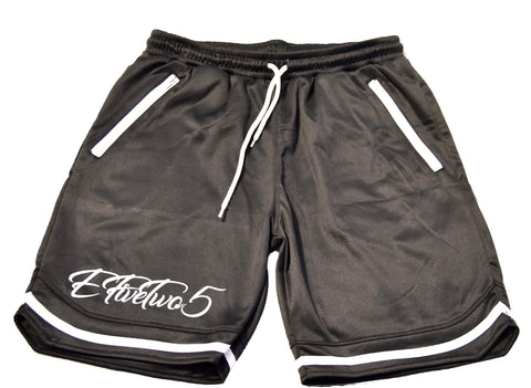 E525 Elite Basketball Shorts// Black