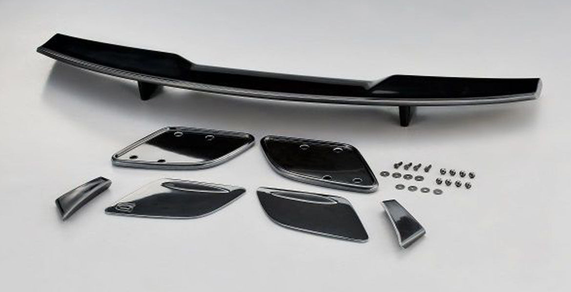 Giomic F54 Mini Clubman rear lid spoiler wing kit from Giomic UK dealer Mini Works