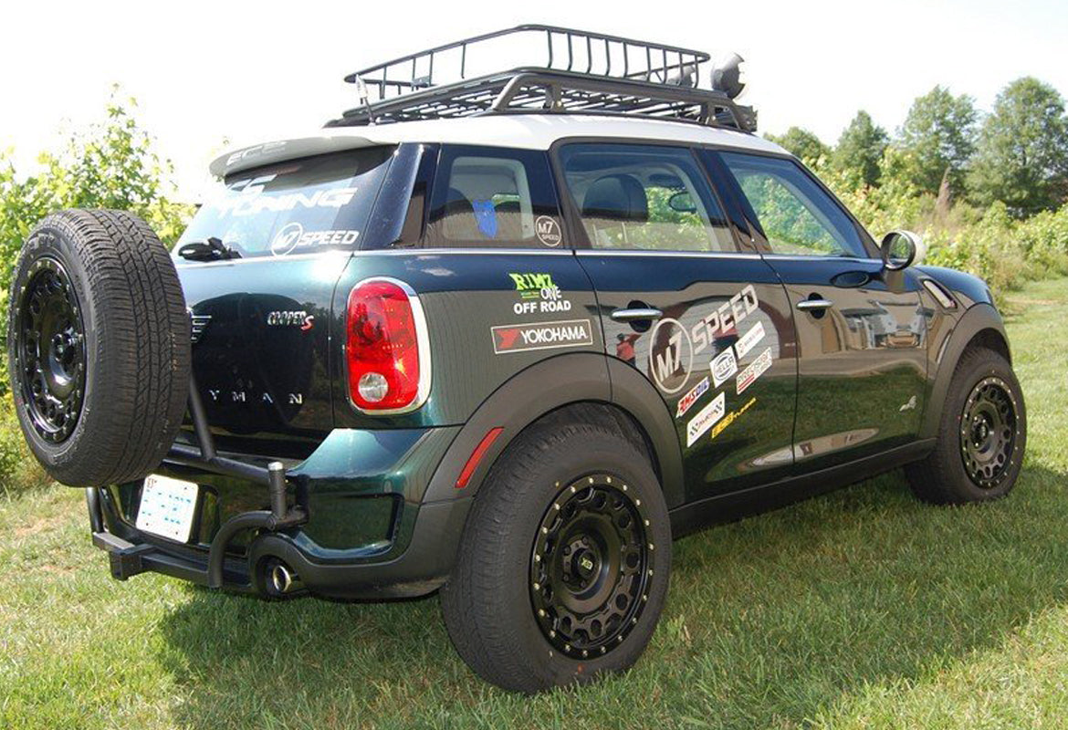 Ultimate R60 Off Road lift kit customised Mini Countryman and Paceman from M7 Speed UK dealer Mini Works