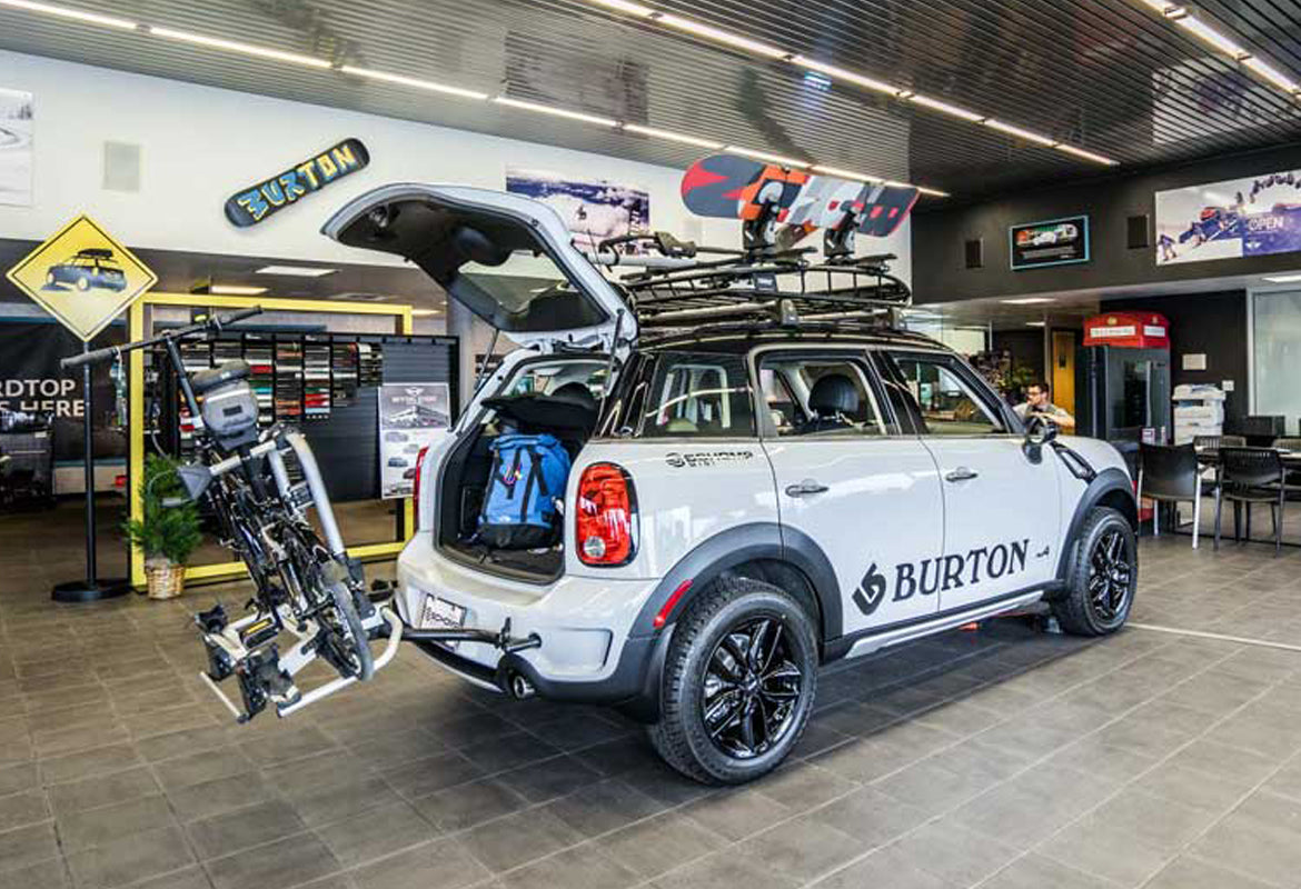 Ultimate R60 Off Road lift kit customised Mini Countryman and Paceman from M7 Speed UK dealer MW-UK