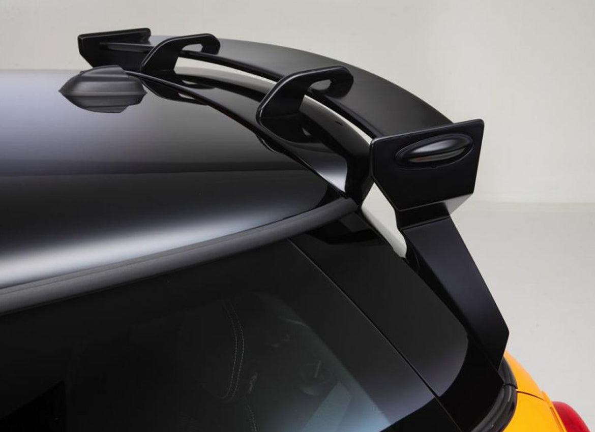 Giomic Mini R56 rear wing boot lid spoiler from Mini Works UK
