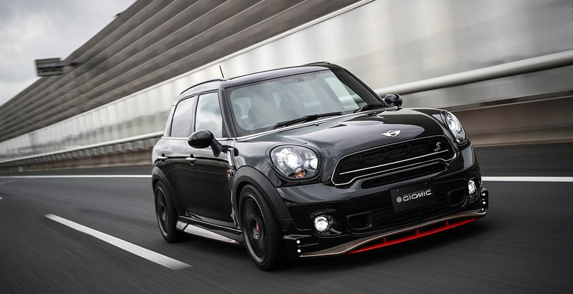Giomic R60 Mini countryman side skirt sills