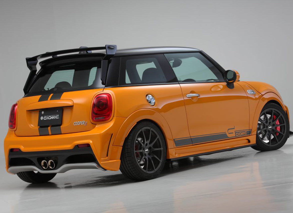 Giomic Mini F56 rear wing boot lid spoiler from Mini Works UK