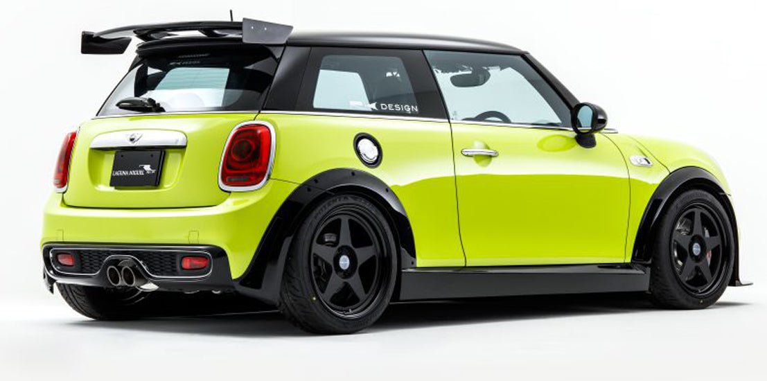 RK Design rear wing spoiler for Mini F56 from Mini Works UK