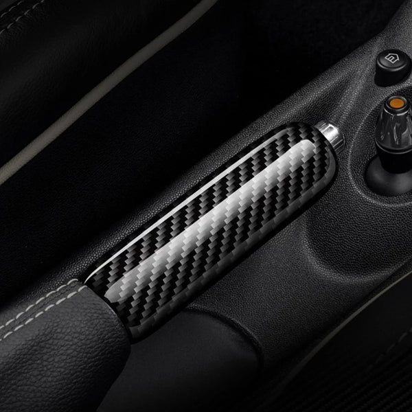Carbon fibre handbrake cover - All Models