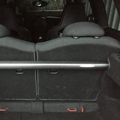 R55 R56 Rear Brace Boot Bar Clubman Cooper Carbon Painted