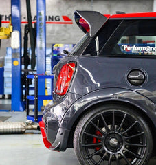 F56 F55 GRP/Carbon Painted spoiler