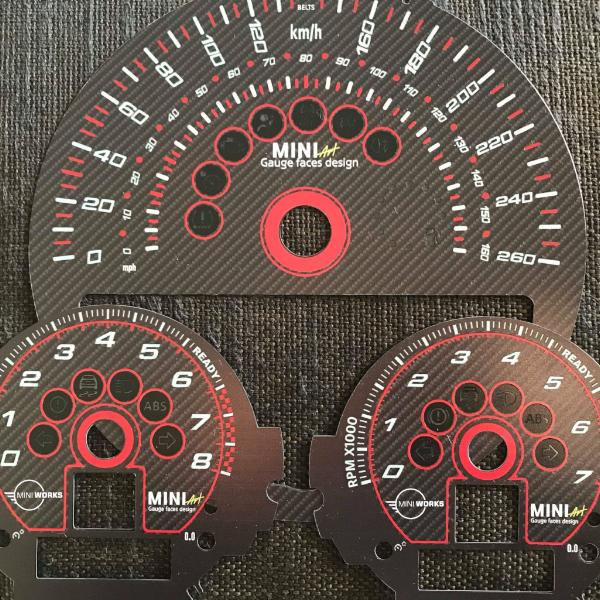 Speedo Gauge mini Personalisations styling cool