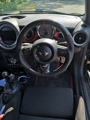 Gen 2 - Carbon flat bottom steering wheel