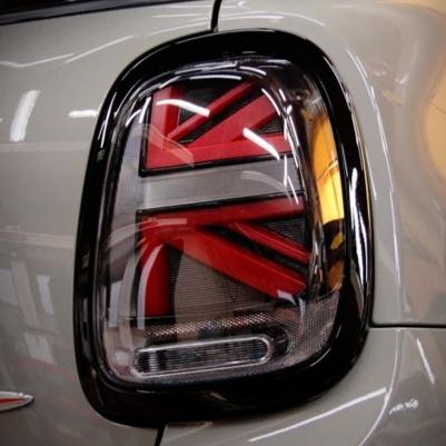 f56 gen3 union jack lights UJ lights black grey