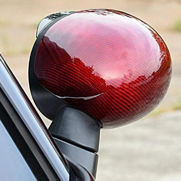 Red carbon mirror shell replacement - Gen3