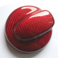 Second Gen RED Carbon Fuel cap cover R55 R56 R57 R58
