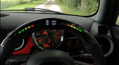 Gen2 - LED Carbon Wheel - Shift lights - Digital display