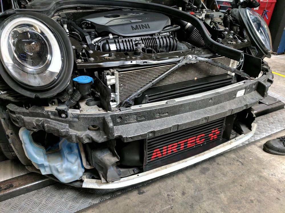 Airtec Uprated boost pipes F56 JCW - Gen3