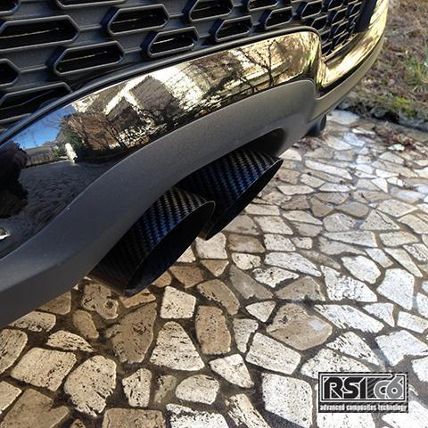Carbon fibre fiber exhaust tips tailpipes all models 70mm 80mm 90mm 100mm high quality RSIC6 Italy UK Worldwide R50 R52 R53 R55 R56 R57 R58 R59 R60 R61 F55 F56 F57