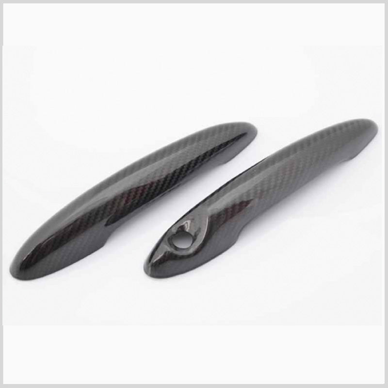 Mini Cooper carbon fiber door handle set
