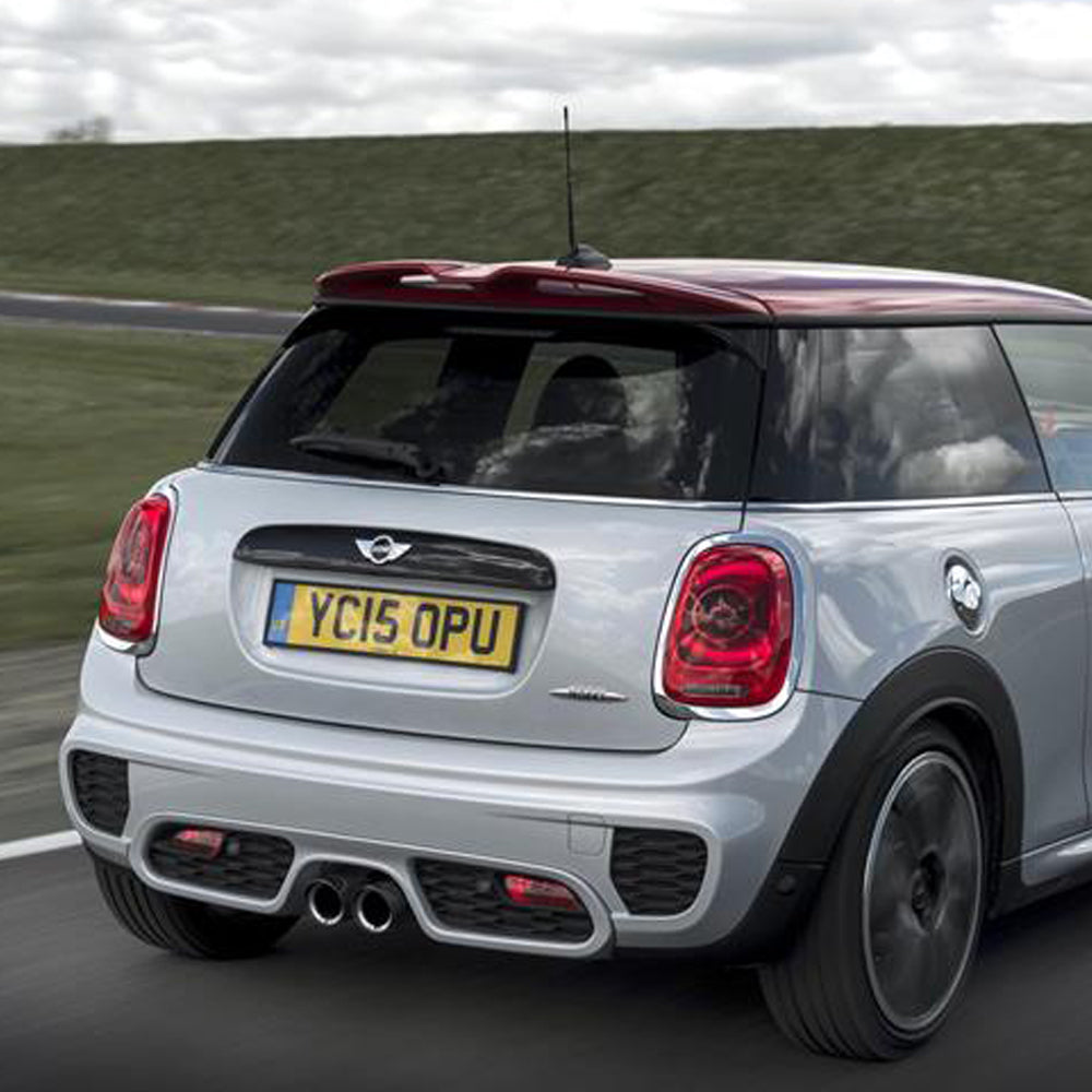 Mini Cooper S carbon fiber rear spoiler from Mini Works