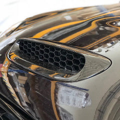 Carbon Fiber / GRP bonnet scoop for Mini F56 Cooper S