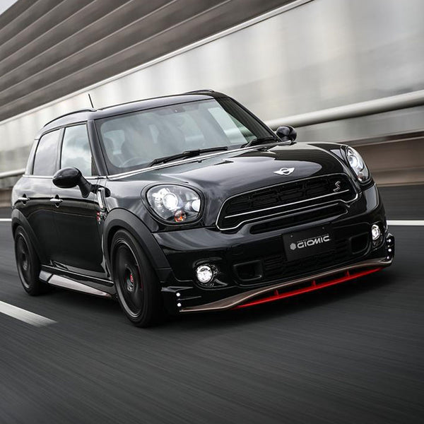 Mini R60 Giomic full body kit for customised Mini Countryman and Paceman from Giomic UK dealer Mini Works
