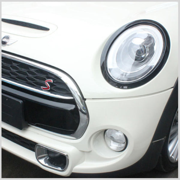 Black Headlight & Tail light surrounds Mini F55 F56 F57